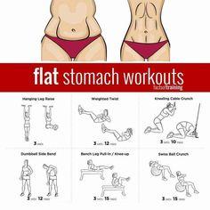 Flat stomach workouts