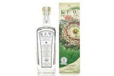 Our favourite botanical gin after our Christmas gin taste tests was this Kew Gardens Organic gin