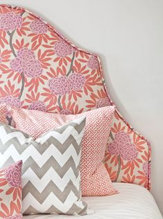 Great floral fabric without being traditional!! Caitlin Wilson fabrics
