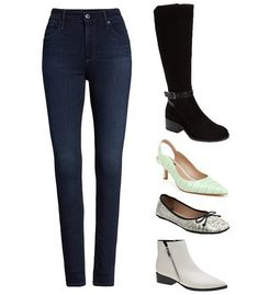 Shoes and boots to wear with skinny jeans   40plusstyle.com