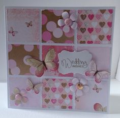 Card designed by Julie Hickey using Pretty in Pink paper and Candi.