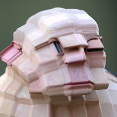 Distorted 3D-Scanned Faces Are the Stuff Nightmares Are Made Of | The Creators…