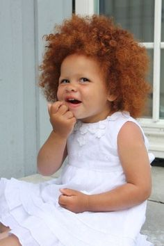 curly red hair kids - Google Search