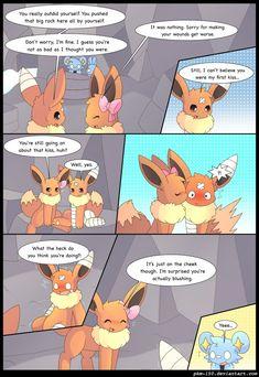 Eevee Cute, Pokemon Eeveelutions, Cute Pokemon Wallpaper, Pokemon Comics, Steven Universe, Squad, Pikachu, Wattpad, Kawaii
