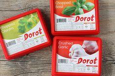 Dorot frozen garlic and herbs