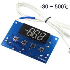 Regolatore di temperatura 0-500 gradi dimensione della finestra 38*20mm