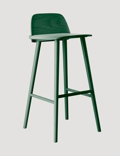 Nerd - Modern Scandinavian Design Bar Stool by Muuto - Muuto