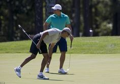 The president also played a round with Washington lawyer Cy Walker on his…