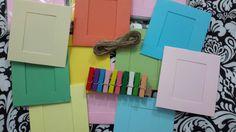 Tendedero de fotos en colores pastel ideal para cualquier evento Photo Clothesline, Pastel Colours, Pictures