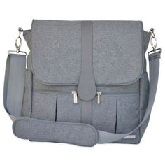 JJ Cole Backpack Diaper Bag in Grey Heather - buybuyBaby.com