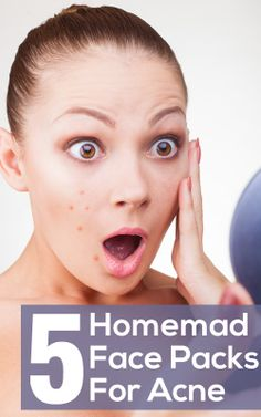 Homemade Face Packs For Acne