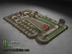 2014 Monster Energy AMA Supercross Track - Seattle