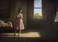 Not Edward Hopper. This is a photo composite by Richard Tuschman , not a Hopper painting. Cinematic Photography, Conceptual Photography, Fine Art Photography, Narrative Photography, Architectural Photography, Editorial Photography, Edouard Hopper, Edward Hopper Paintings, Gottfried Helnwein