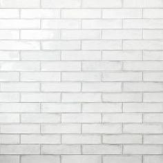 Ivy Hill Tile Catalina White 3 in. x 12 in. x 8 mm Ceramic Wall Subway Tile sq./case) - - The Home Depot Grey Subway Tiles, Ceramic Subway Tile, Splashback Tiles, Kitchen Backsplash, Backsplash Ideas, Kitchen Cabinets, Bathroom Cabinets, Kitchen Reno, Kitchen Ideas