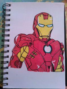 My iron man drawing :)