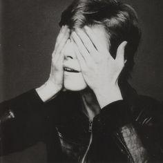 "David Bowie ""Heroes"" album cover session by Masayoshi Sukita. Tokyo, April, 1977."