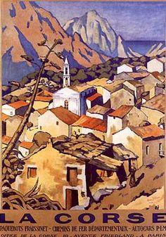 La Corse by A. Strauss (1930)