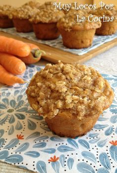 Savory Muffins, Healthy Muffins, Healthy Desserts, Sweet Recipes, Vegan Recipes, Food C, Oatmeal Muffins, Cupcakes, Pescatarian Recipes