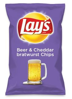 Wouldn't Beer & Cheddar bratwurst Chips be yummy as a chip? Lay's Do Us A Flavor is back, and the search is on for the yummiest flavor idea. Create a flavor, choose a chip and you could win $1 million! https://www.dousaflavor.com See Rules.
