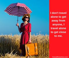 Do you like to travel alone? Introvert travel.