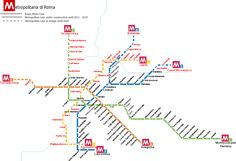 The Rome Metro is the subway system of the city of Rome in Italy. It is managed by ATAC, the owners of all of the public transportation in Rome. The metro was officially inaugurated on February 16th, 1980. It has three lines and 73 stations. The metro makes connections with all of the public transportation in Rome, which includes buses, light railways and trams. #rome #metro