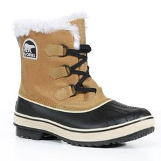 I have always loved this style of boot! And...they keep your feet warm and dry! Sorel Women's 'Tivoli' Buff Suede Cold Weather Boots