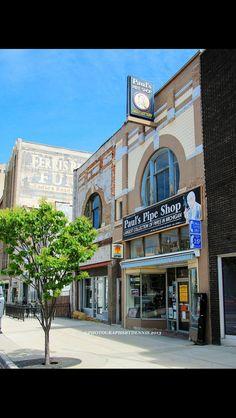 Paul's Pipe Shop downtown Flint Swartz Creek, Coney Dog, Pipe Shop, The Mitten State, Flint Michigan, Michigan Travel, Coney Island, Good Ole, Detroit