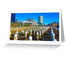 Docklands and Etihad Stadium - Melbourne, Victoria Greeting Card
