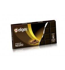 Chocolate negro estuche con almendras 200 grs.