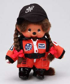 Take a look at this Astronaut Monchhichi by Monchhichi on #zulily today!