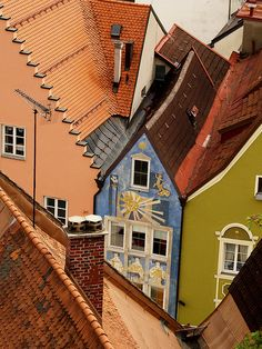 Roofscape, Füssen, Germany