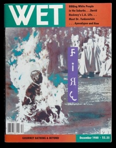 #WET: The Magazine of Gourmet #Bathing