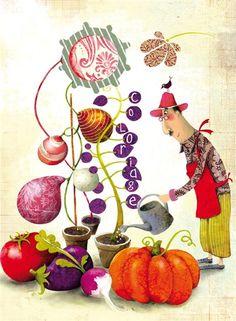 ilustração de Marie Desbons