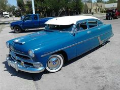 1954 Hudson Hornet Classic Car Garage, Classic Cars, Hudson Car, Hudson Hornet, Old American Cars, 50s Cars, Wasp, Land Cruiser, Motor Car