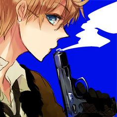 Aimu, Axis Powers: Hetalia, United States, Allied Forces