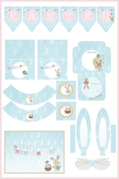 FREE printable Easter Set