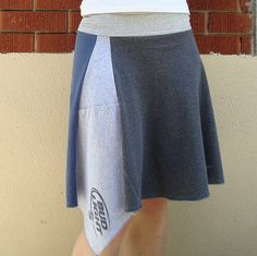 Beer skirt made out of recycled t-shirts by tangente, via Flickr