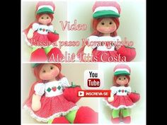 Passo a passo boneca Moranguinho Musica Movil | TuMusicaMovil.com