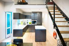 Albedor Ultrafinish in Gloss Gun Metal Roller Doors, Built In Furniture, Kitchen Doors, Decorative Panels, Panel Doors, Kitchen Styling, Door Design, Kitchen Design, Modern Design