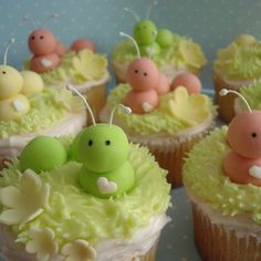 Caterpillar Cupcake Inspiration