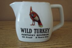 FOR BEN: wild turkey kentucky bourbon decanter. $18.00, via Etsy.