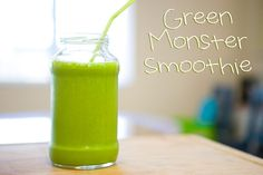 Cali Green Mama: My Green Monster Smoothie