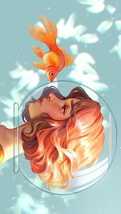 Launcher Theme, Wallpaper and Design Pretty Art, Cute Art, Japon Illustration, Cartoon Art Styles, Digital Art Girl, Digital Art Anime, Anime Art Girl, Aesthetic Art, Cute Drawings