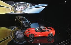 General Motors unveils its newly redesigned Corvette Stingray ahead of the North American International Auto Show in Detroit. Stingray Chevy, 2014 Stingray, 2014 Corvette Stingray, Triumph Triple, 2014 Chevy, Detroit Auto Show, Automotive Group, Ducati Monster, American Sports