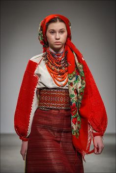 Hutsul traditional costume, Ukraine   Ukrainian Beauty etno Ukraine Women, Ukraine Girls, Folk Fashion, Ethnic Fashion, Womens Fashion, Style Ethnique, Folk Costume, Traditional Dresses, Pretty Outfits
