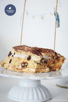 "Cake Topper Mini Birthday Garland ""Indians"" by Wiewiorka i Spolka"