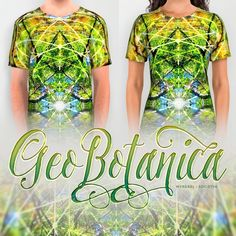 I opened up Photoshop to look and do some photos from the other day's outing at the Botanic Gardens - I got to the photo of the Grevillea Robusta tree - and then i this design happened! Featured here are the all over print shirts at society6 -looks great on the other products too. I have added the Wall Tapestry of this design/art to my ishop (link in profile)  #mydesigns #fashion #alloverprintshirt #green #sacredgeometry #geometry #nature #psychedelic #trippy #nature #art #shamanic #geometry…