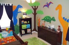 Cute Dinosaur Boys' Room