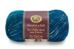 Lion Brand Yarn Co. Shawl in a Ball Yarn® in Healing Teal