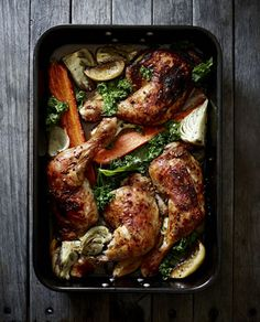 """PAPRIKA CHICKEN MARYLANDS by Pete Evans """"The Valet Chef"""""""